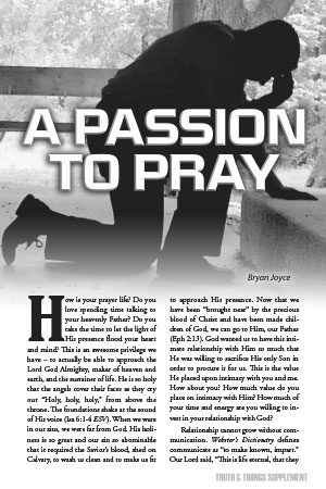 A Passion to Pray