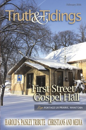 Assembly History: Portage Gospel Hall