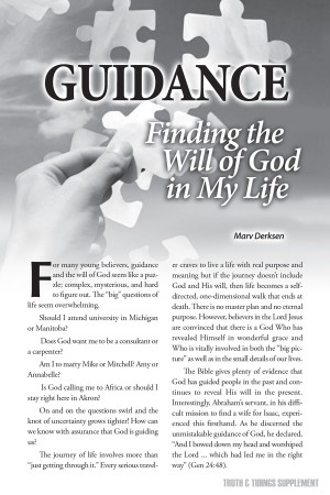 Guidance - Finding the Will of God in My Life