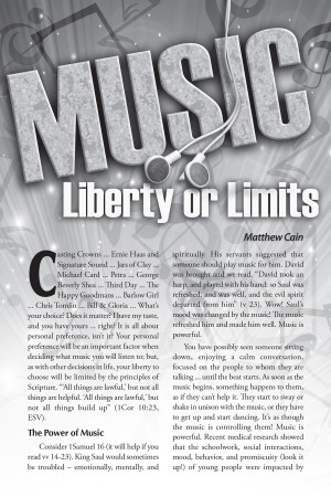 Music – Liberty or Limits