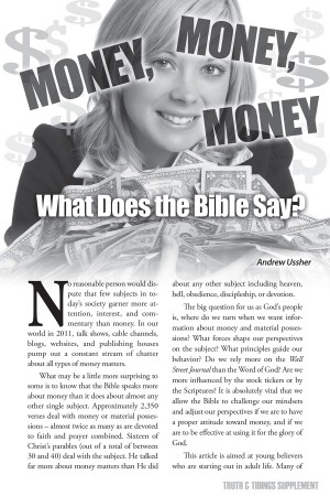Money (1) - What does the Bible Say?