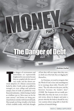 Money (2) – The Danger of Debt
