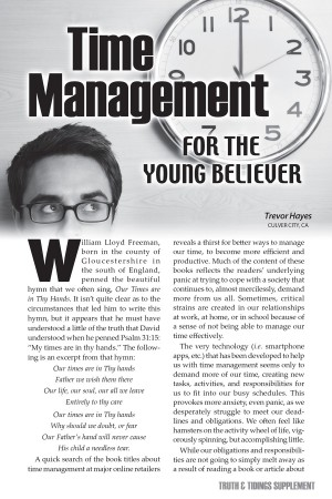 Time Management for the Young Believer