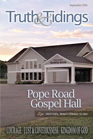 Assembly History: Pope Road Gospel Hall
