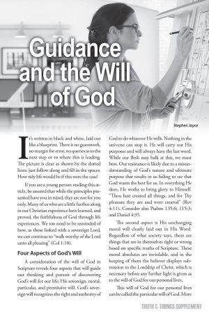 Guidance and the Will of God